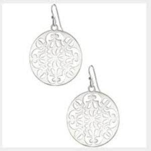 Celia Earrings - Silver (Retail: $59)